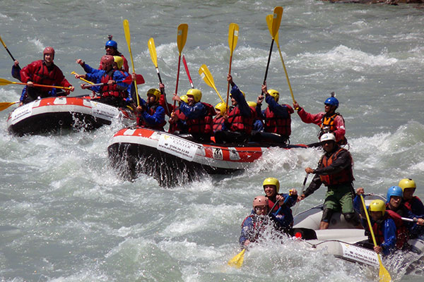 rafting confort adventure