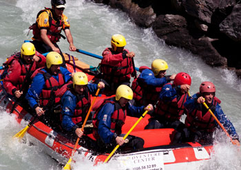 rafting & team building