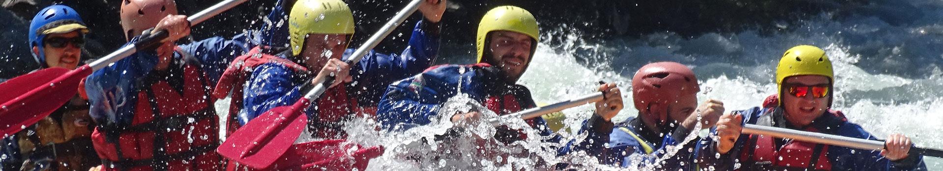 rafting Val d' Aosta