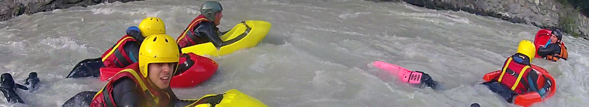 Hydrospeed fiume Dora Baltea